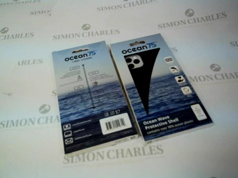 """Lot 2631 BOX OF 13 BRAND NEW BOXED OCEAN WAVE PROTECTIVE SHELLS FOR IPHONE 2019 6.5"""" SCREEN"""