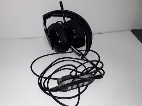 Lot 4093 MPOW PC HEADSET 224, FOLDABLE OVER-EAR HEADSET USB HEADSET/3.5MM COMPUTER HEADSET