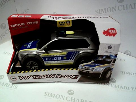 Lot 142 VW TIGUAN R-LINE POLICE CAR TOY