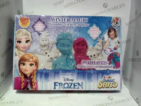 Lot 22 DISNEY FROZEN WINTER MAGIC CRAZE MAGIC GLITTER SAND