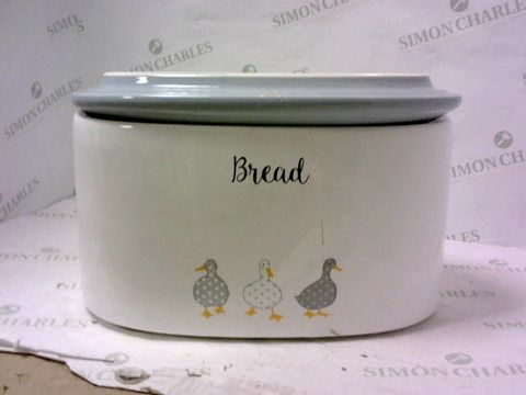 Lot 11212 PRICE & KENSINGTON MADISON FINE STONEWARE BREADCROCK BIN