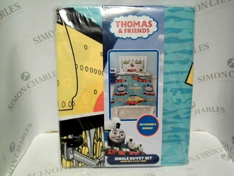 Lot 7332 THOMAS THE TANK ENGINE SINGLE DUVET SET