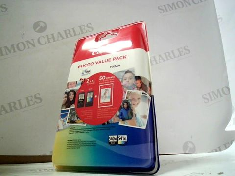 Lot 8109 CANON PHOTO VALUE PACK