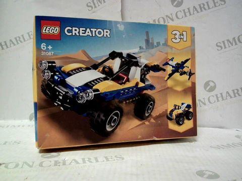 Lot 4427 LEGO CREATOR 3 IN 1 VEHICLE SET 31087