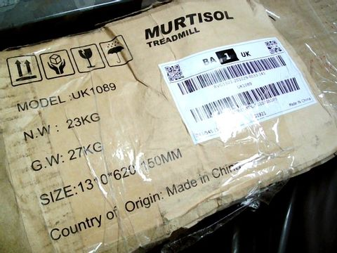 Lot 4005 MURTISOL TREADMILL MODEL: UK1089
