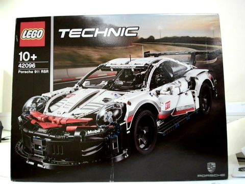 Lot 5270 LEGO TECHNIC 42096 PORSCHE 911 RSR RRP £174.99