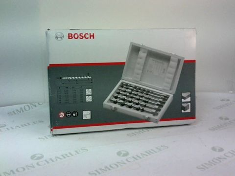 Lot 9280 BOSCH TIMBER DRILL BITS SET