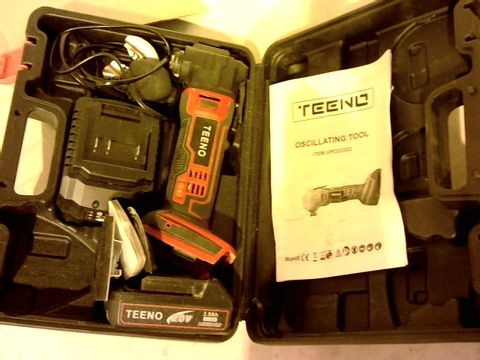 Lot 12817 TEENO OSCILLATING MULTI-TOOL