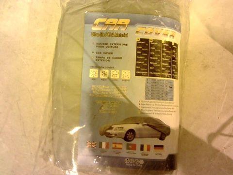 Lot 11005 CAR COVER ULTRA-LITE PEVA MATERIAL