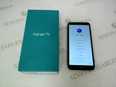 Lot 12902 BOXED HONOR 7S MOBILE PHONE