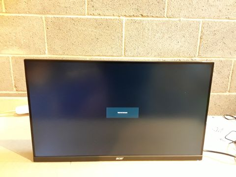 Lot 150 ACER ED270RPBIIPX 27 INCH FHD CURVED MONITOR