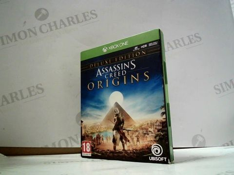 Lot 8037 ASSASSIN'S CREED: ORIGINS - DELUXE EDITION XBOX ONE GAME