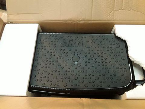 Lot 10562 BOXED VIBRAPOWER SLIM 3 SEAT - BLACK