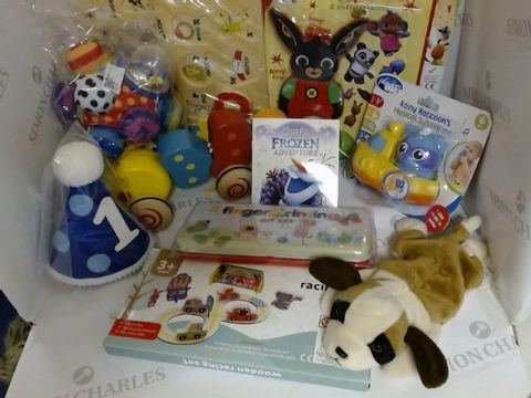 Lot 1522 ASSORTMENT OF BABY TOYS