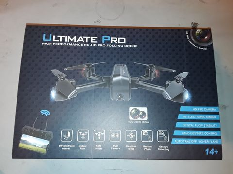 Lot 1084 ULTIMATE PRO HIGH PERFORMANCE FOLDING DRONE