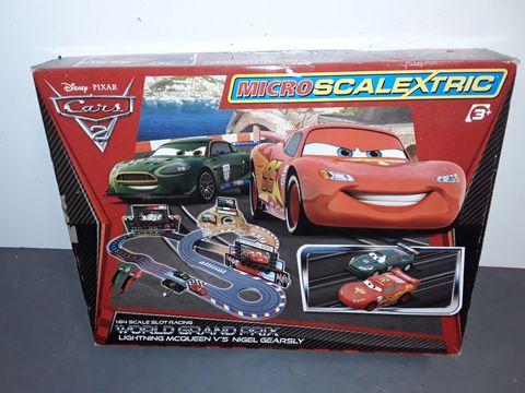 Lot 1152 CARS 2 MICRO SCALETRIX SET