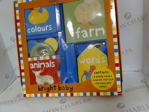 Lot 1448 PRIDDY BOOKS BRIGHT BABY GIFT SET