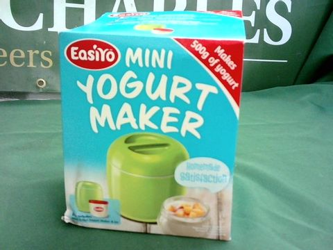 Lot 1087 EASIYO MINI YOGURT MAKER