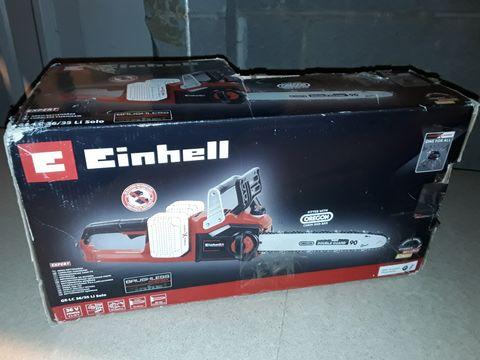 Lot 2237 EINHELL EXPERT 36V CORDLESS CHAINSAW