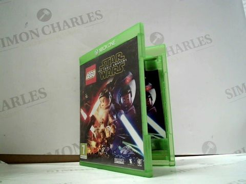 Lot 8042 LEGO: STAR WARS - THE FORCE AWAKENS XBOX ONE GAME