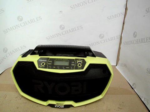 Lot 15141 RYOBI ONE+ CORDLESS RADIO