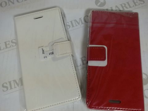 Lot 17131 LOT OF APPROXIMATELY 15 ASSORTED PHONE CASES 8 X 15