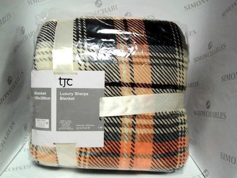 Lot 7316 TJC LUXURY SHERPA BLANKET - BRAND NEW SEALED