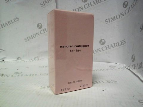 Lot 5079 BRAND NEW AND SEALED NARCISO RODRIGUEZ FOR HER EDT 50ML