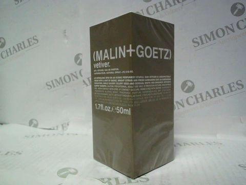 Lot 3074 BRAND NEW AND SEALED MALIN+GOETZ VETIVER EDT 50ML