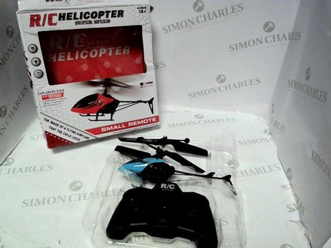 Lot 42 R/C CONTROLLED SUPER SPEED HELECOPTER   14+