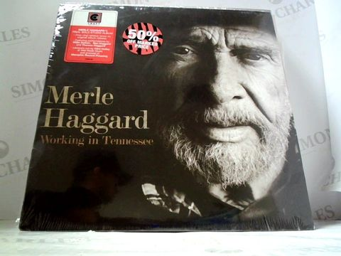 Lot 3261 LOT OF 10 ASSORTED VINYL RECORDS TO INCLUDE; MERLE HAGGARD, ANGEL OLSEN, INGRID MICHAELSON ETC