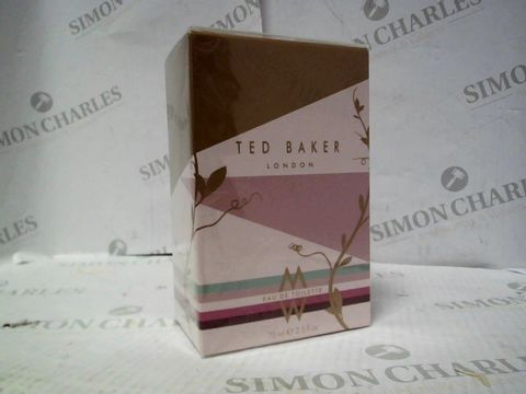 Lot 8117 BRAND NEW AND SEALED TED BAKER W EDP 75ML