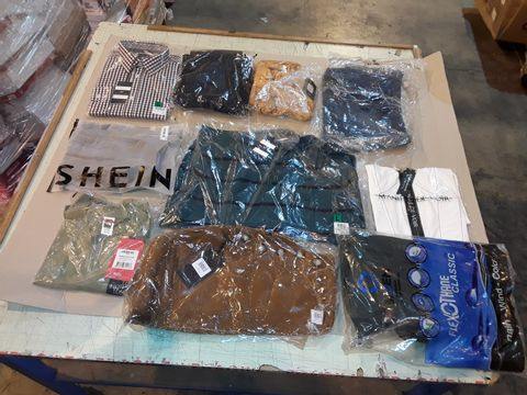 Lot 4044 CAGE OF ASSORTED UNPROCESSED ADULT CLOTHING ITEMS