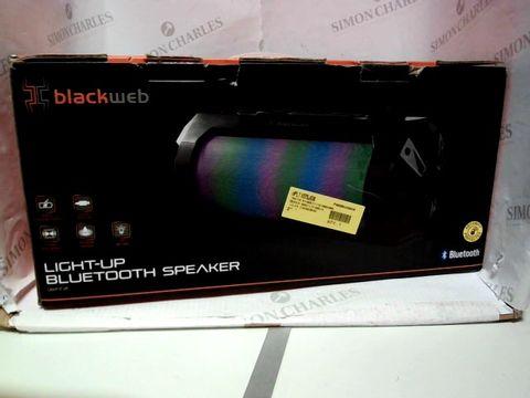 Lot 8097 BLACKWEB LIGHT-UP BLUETOOTH SPEAKER