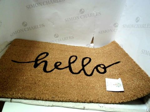 Lot 4038 DOORSTEP WELCOME MAT