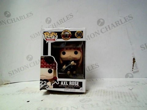 Lot 117 FUNKO POP VINYL FIGURE AXL ROSE