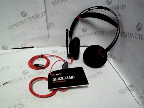 Lot 1062 POLY BLACKWIRE 5200 HEADSET