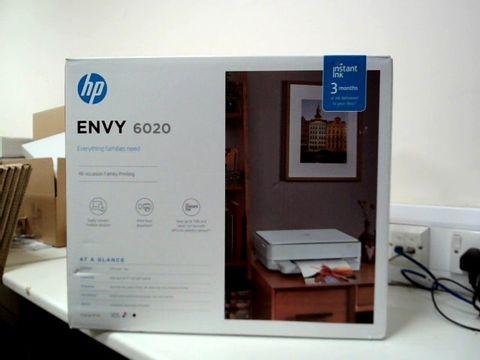 Lot 207 HP ENVY 6020 PRINTER