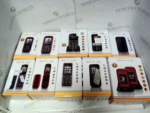 Lot 7116 LOT OF APPROXIMATELY 10 ASSORTED BEAFON MOBILE PHONES