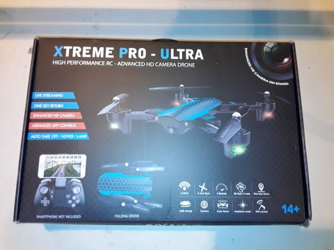Lot 3092 XTREME PRO-ULTRA HIGH PERFORMANCE HD CAMERA DRONE