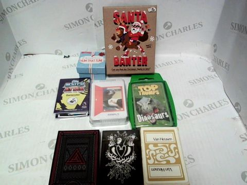 Lot 76 ASSORTED CARD GAMES APPROX 8pc