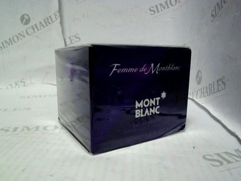 Lot 5013 BRAND NEW AND SEALED FEMME DE MONTBLANC EDT 30ML