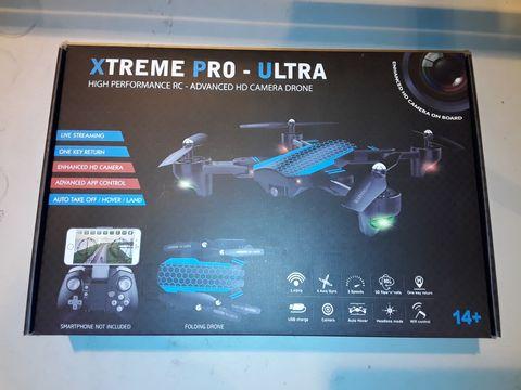 Lot 3094 XTREME PRO-ULTRA HIGH PERFORMANCE HD CAMERA DRONE