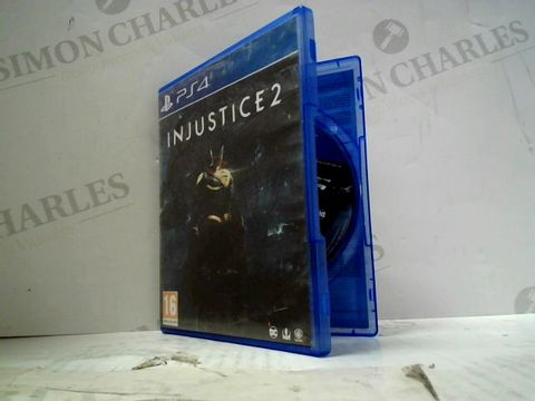Lot 59 INJUSTICE 2 PLAYSTATION 4 GAME