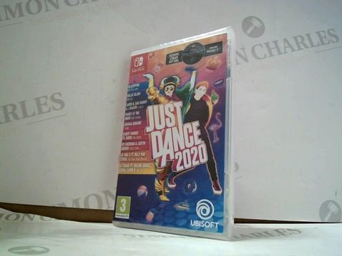 Lot 8176 JUST DANCE 2020 NINTENDO SWITCH GAME