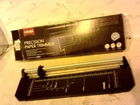 Lot 12593 PREMIER STATIONERY CONCEPT A3 PRECISION ROTARY PAPER TRIMMER