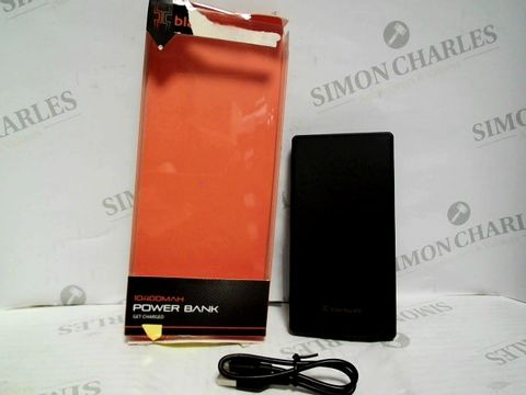 Lot 7426 BLACKWEB 10400MAH POWER BANK