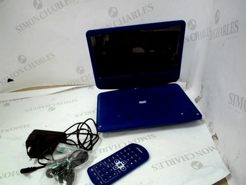 "Lot 10065 9"" PORTABLE DVD PLAYER - BLUE"