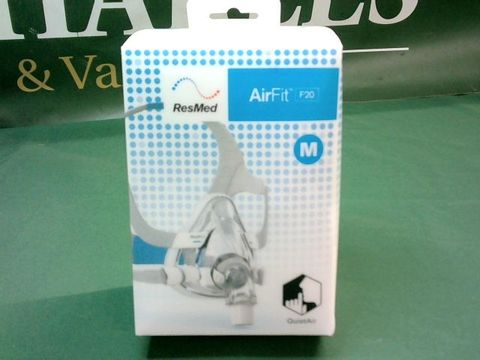Lot 9001 RESMED AIRFIT F20 CPAP MASK