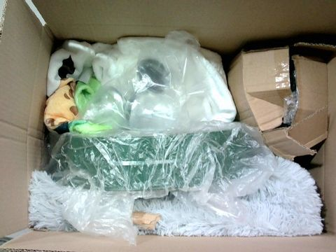 Lot 2321 BOX OF LARGE QUANTITY OF ASSORTED HOUSEHOLD ITEMS